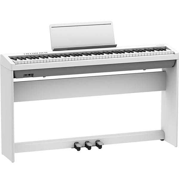最新款Roland FP-30X 88鍵數位鋼琴-白色全配組/原廠琴架/原廠六好禮