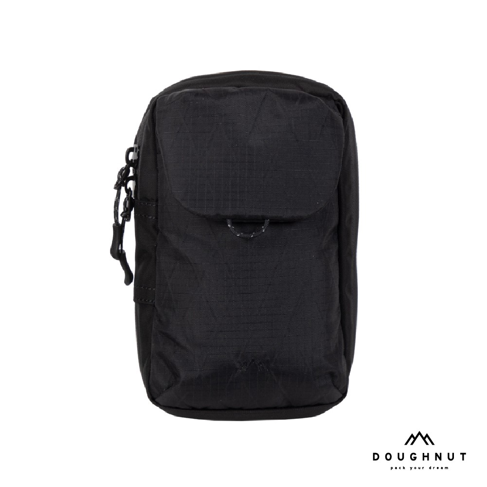 DOUGHNUT 防水側背包 手機包 【品牌直營】TREK COLLECTION SERIES 兩用包 男 / 黑
