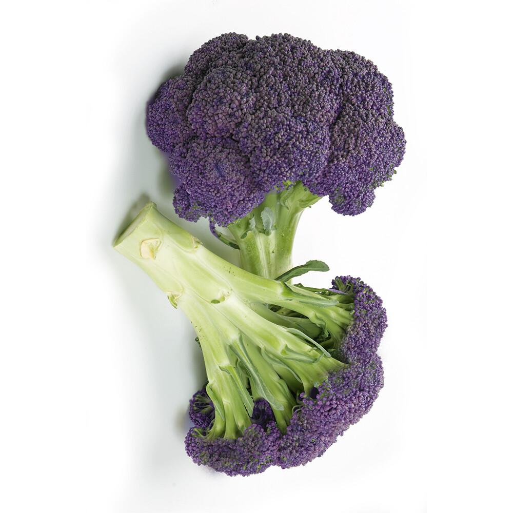 鮮採家雲林產地直送軟嫩帶葉紫花椰菜(單顆約52510%)