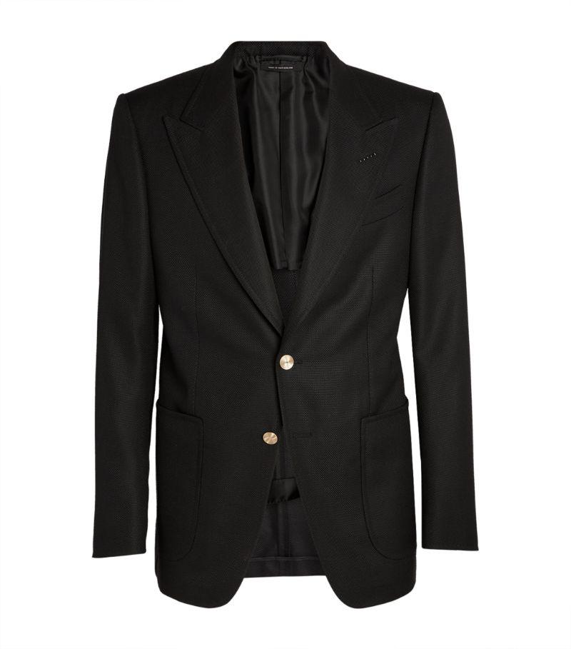 Tom Ford Shelton Hopsack Tailored Jacket