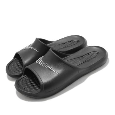 Nike 拖鞋 Victori One Shower 男女鞋 基本款 簡約 情侶穿搭 快速排水 黑 白 CZ5478001