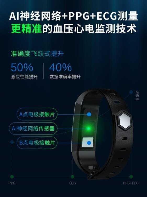 快速出貨 dido智能手環男防水記計步器運動多功能老人健康情侶手錶高精度 DF
