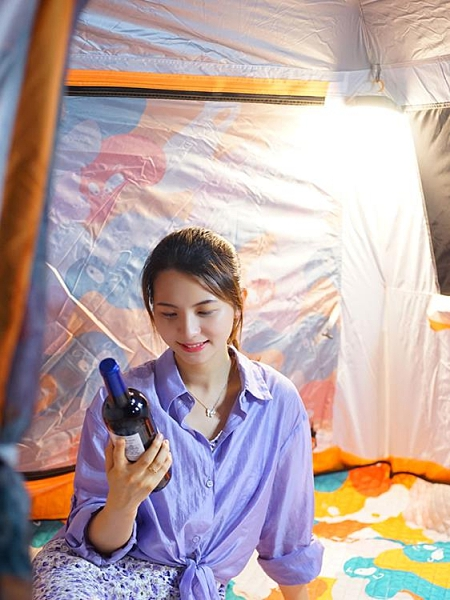 戶外露營燈LED應急燈強光野營地超亮帳篷燈充電磁吸夜市擺攤照明 【4·4超級品牌日】