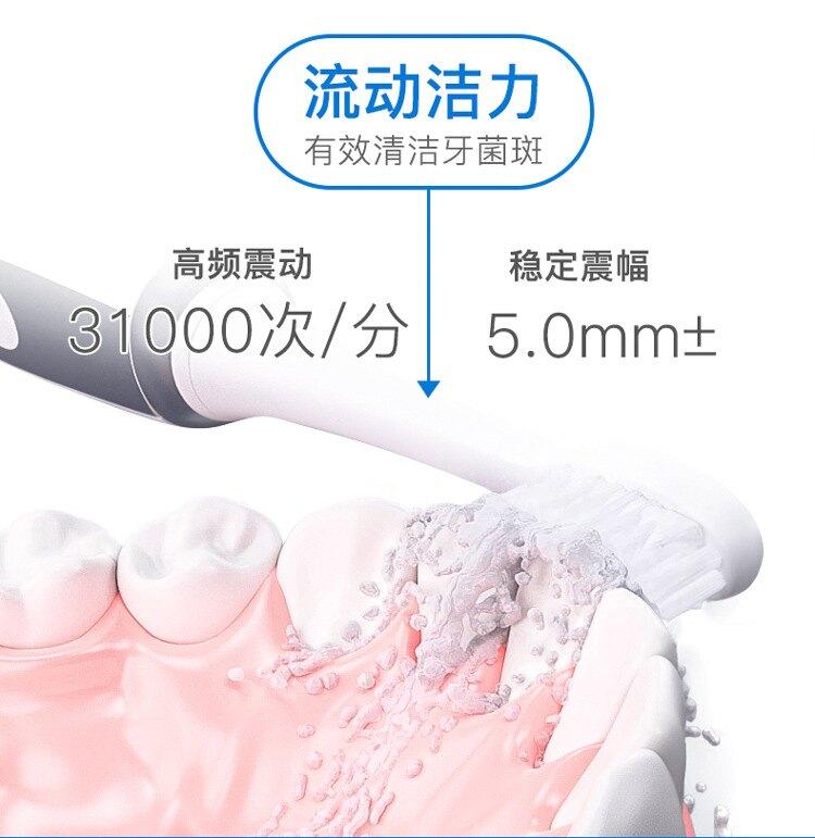 isonic電動牙刷成人T3自動充電式網紅智慧情