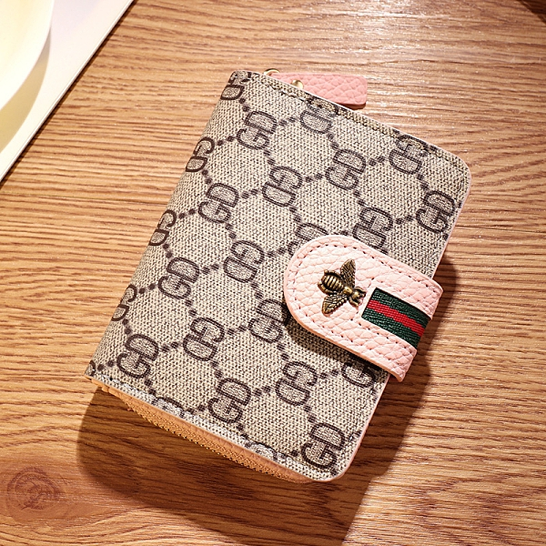 女生短夾 女士錢夾 女短款錢包 學生錢包女短款 時尚女式小蜜蜂韓國可愛個性 女士錢包皮夾