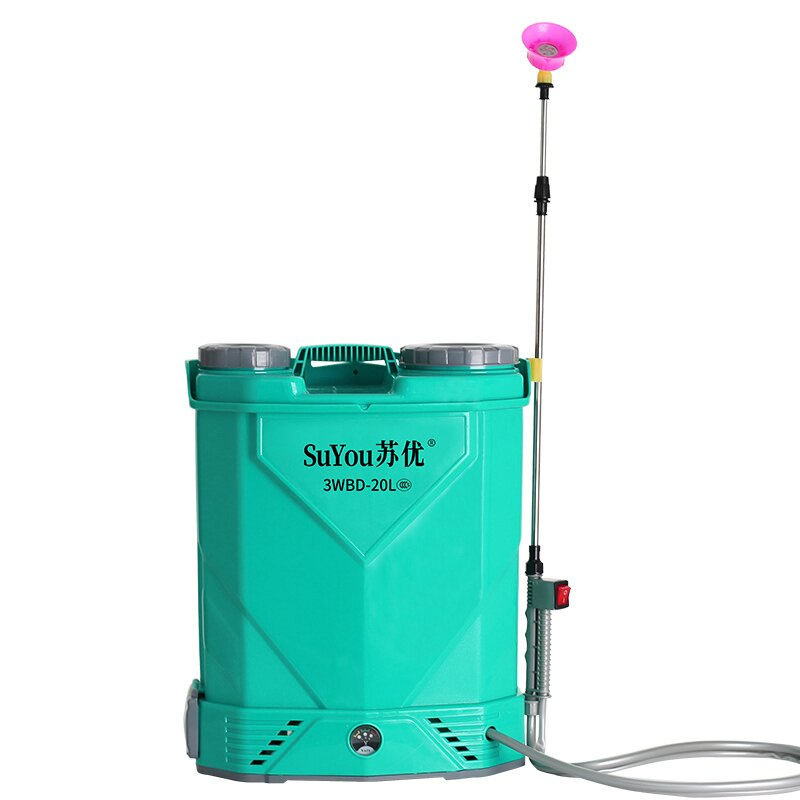 打藥機電動噴霧器農用高壓鋰電池背負式消毒新式充電農藥噴灑噴壺打藥機『CM46109』