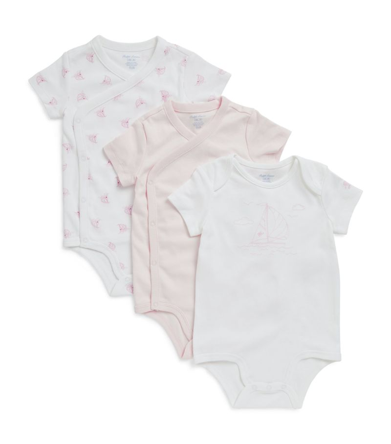 Ralph Lauren Kids Set Of 3 Bodysuits (3-12 Months)