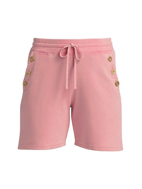 Indya Sailor Button Shorts