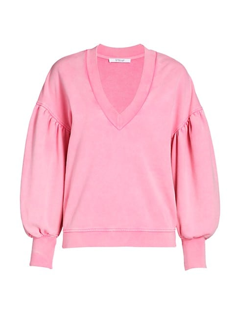 Edie V-neck Sweatshirt