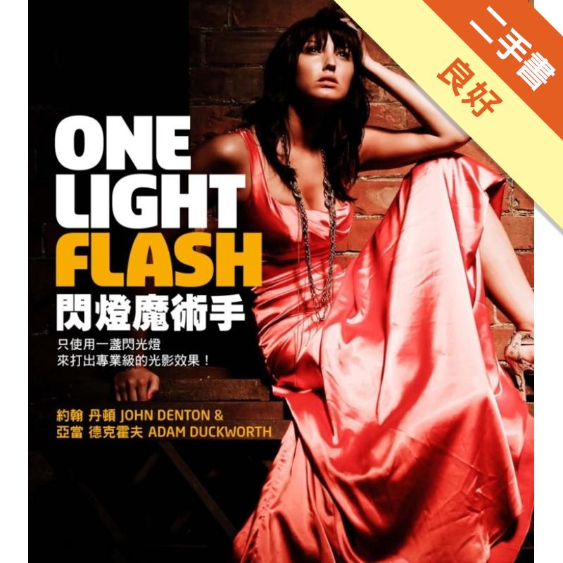 ONE LIGHT FLASH 閃燈魔術手[二手書_良好]3938