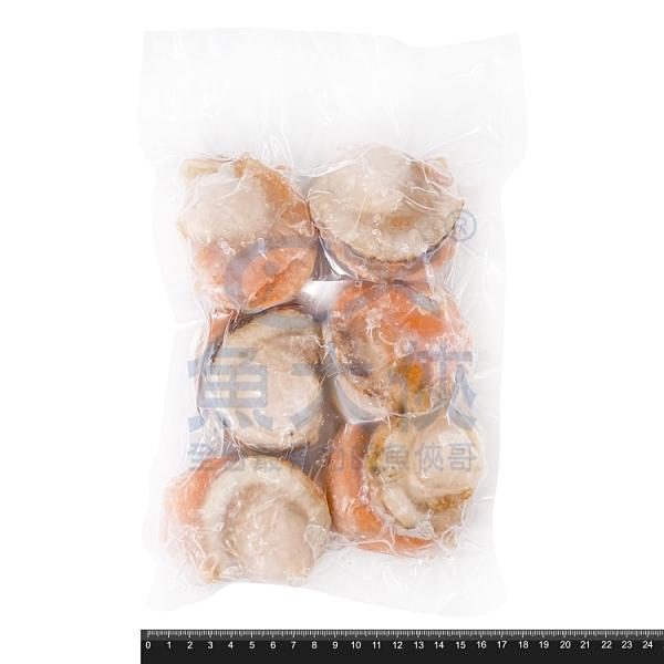 1D4A【魚大俠】BC059日本熟凍帆立貝(2L規/6顆/包)#帆立貝2L分享包