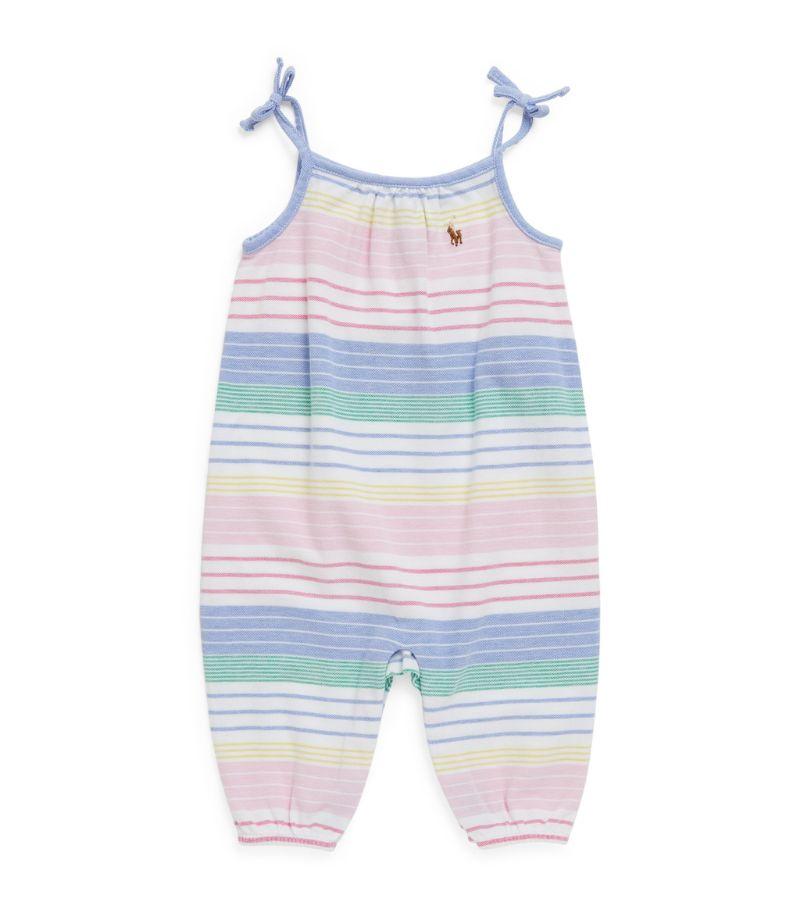 Ralph Lauren Kids Striped Playsuit (3-9 Months)