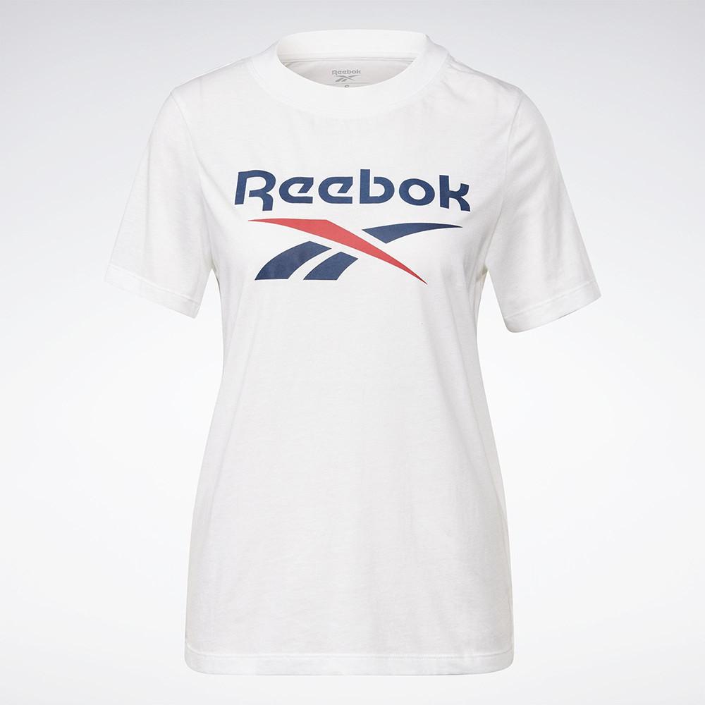 REEBOK CLASSICS LOGO 女裝 短袖 休閒 羅紋圓領 棉質 白【運動世界】GI6706