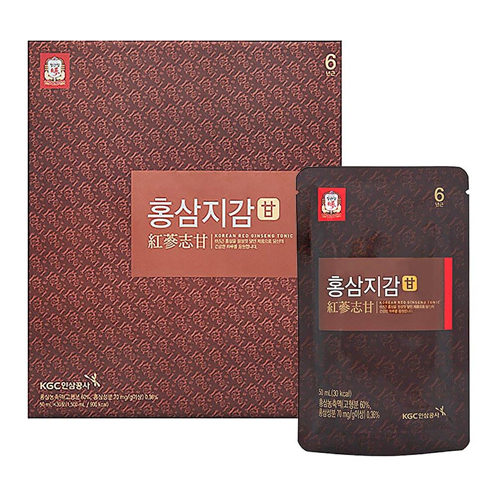 【正官庄】高麗蔘志甘活力飲(50mlx30包)x2盒