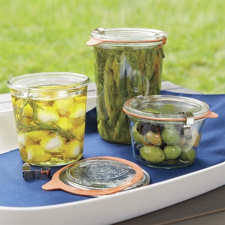 密封儲物玻璃罐檸檬蜂蜜腌制罐果醬瓶燕麥酸奶杯家用帶蓋