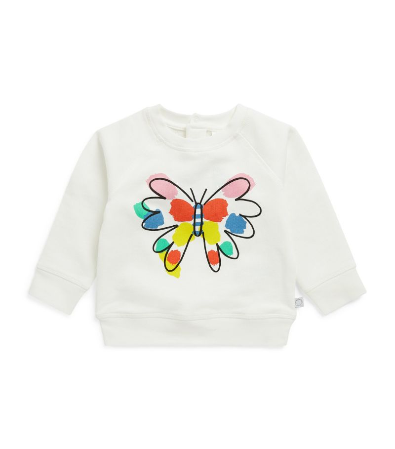Stella Mccartney Kids Butterfly Print Sweatshirt (3-36 Months)