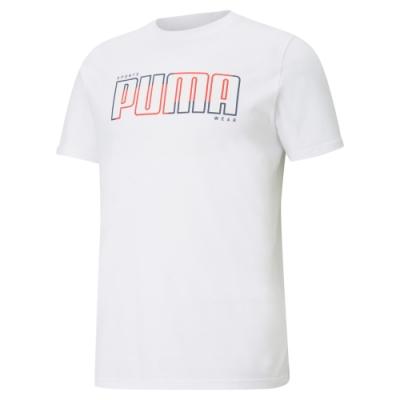 【PUMA官方旗艦】基本系列Athletics短袖T恤 男性 58575602
