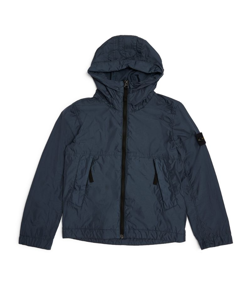 Stone Island Junior Hooded Jacket (6-14 Years)