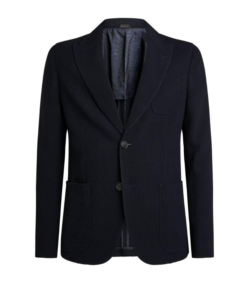 Giorgio Armani Virgin Wool-Blend Blazer