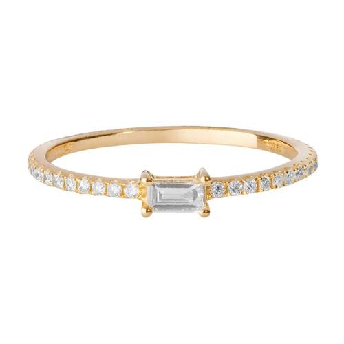 Engagement ring - baguette