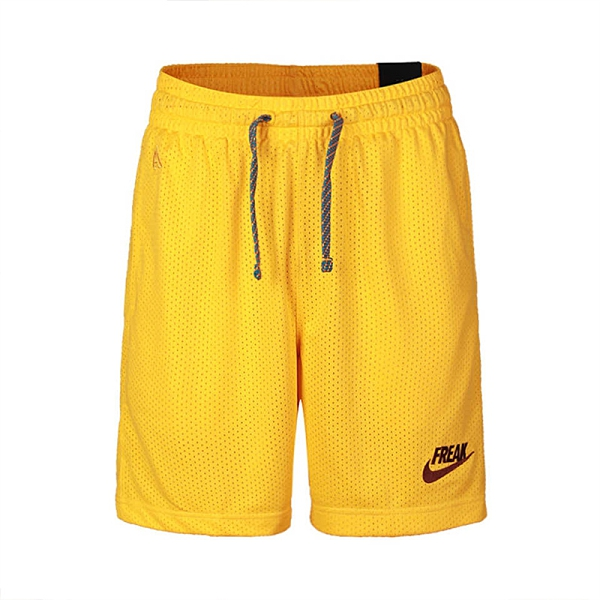 Nike AS Giannis M Short Freak 男 黃 網眼 運動 短褲 CK6213-739
