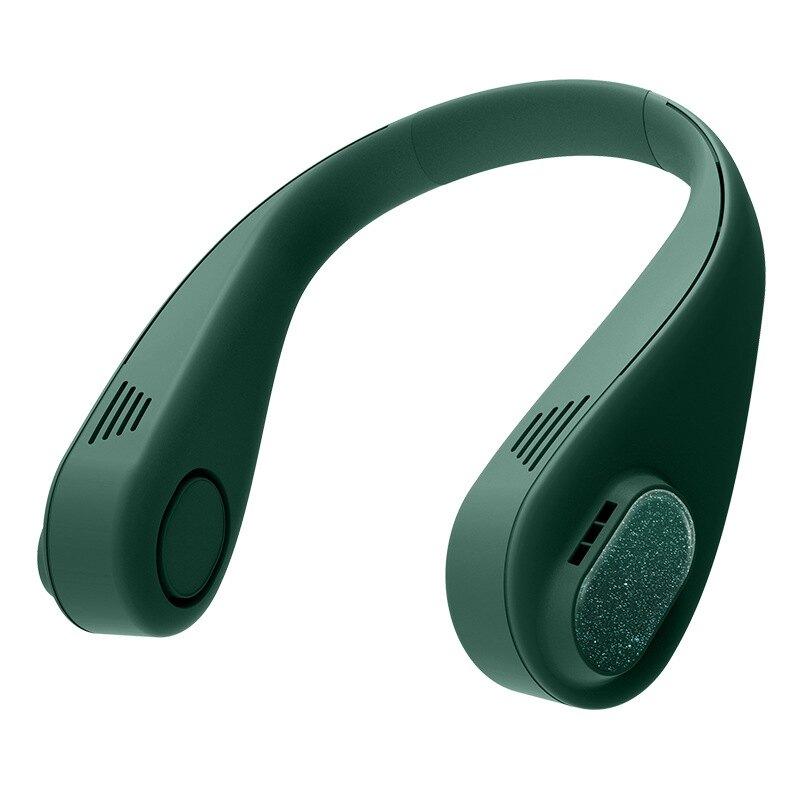 新品無葉掛脖風扇輕便時尚小風扇戶外運動USB風扇