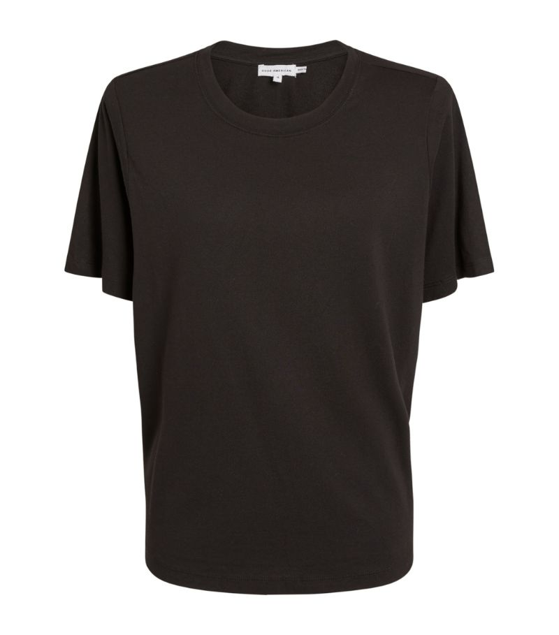 Good American Strong Shoulder T-Shirt