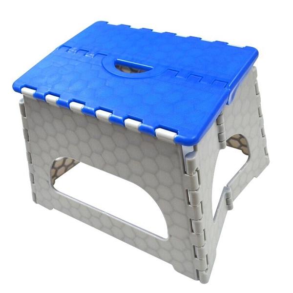 【DH418】小當家摺疊RC-808小折凳-20公分高(小)摺疊椅/板凳/收納方便(台灣製)荷重50公斤 EZGO商城