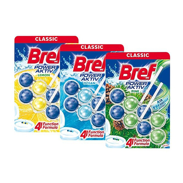 德國 Bref 馬桶強力清潔球(2入組) 檸檬/海洋/松木 款式可選【小三美日】