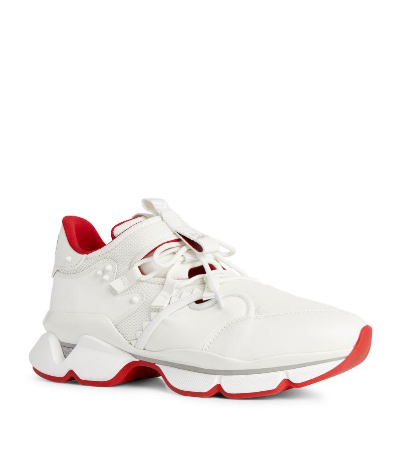 Christian Louboutin Redrunner Leather Sneakers
