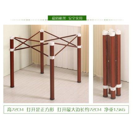 桌腿支架折疊桌架桌腿支架桌腳架金屬桌架子不銹鋼折疊麻將桌腿快餐桌子腿『CM46392』