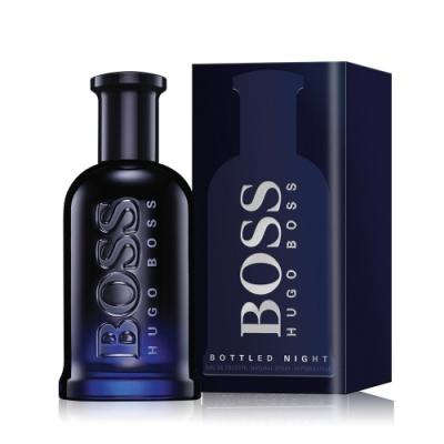 HUGO BOSS Bottled Night 自信之夜男性淡香水50ml-公司貨