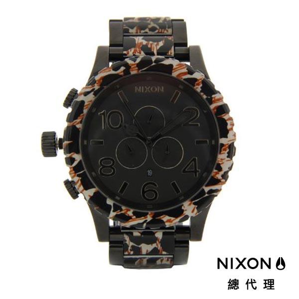 NIXON 51-30 時尚霸氣 豹紋 潛水錶 潮人裝備 潮人態度 禮物首選