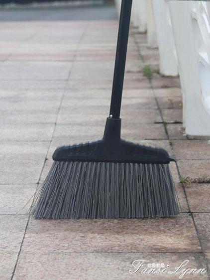 庭院硬毛大掃把單個室外馬路工廠環衛笤帚加長加大家用戶外大掃帚