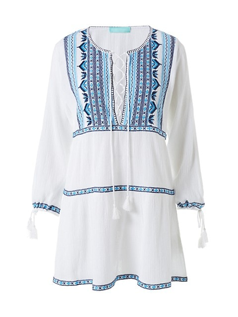 Millie Embroidered Tunic Dress