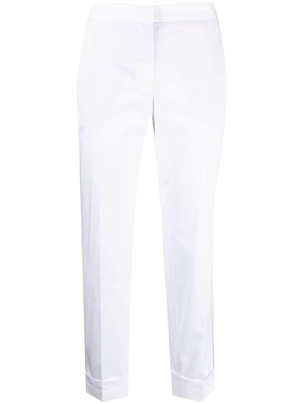White Lola Cotton Pants