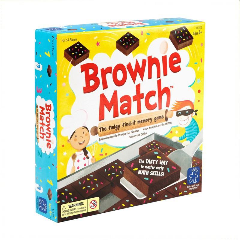 美國Educational Insights 兒童益智桌遊 - 布朗尼派對