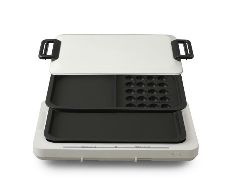 日本IRIS  WHP-012 雙烤盤 左右溫控電烤盤