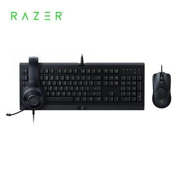 雷蛇Razer Power Up Bundle 3合1鍵鼠耳機組(RZ85-02741900-B3T1)