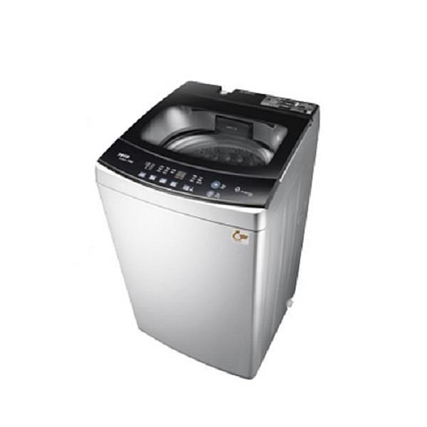 【南紡購物中心】東元【W1068XS】10公斤變頻洗衣機晶鑽銀