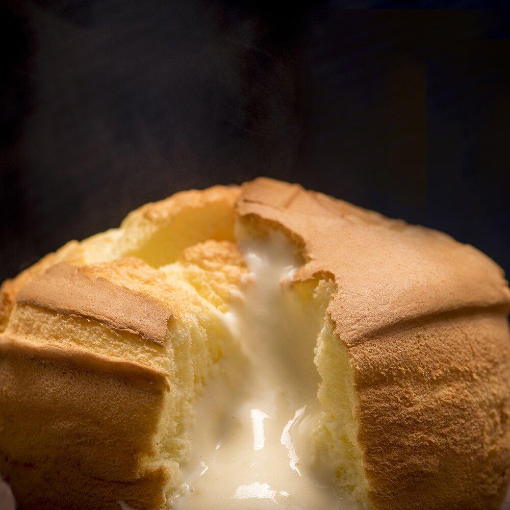 【樂樂甜點】樂樂爆漿雞蛋布丁蛋糕(原味)-2盒