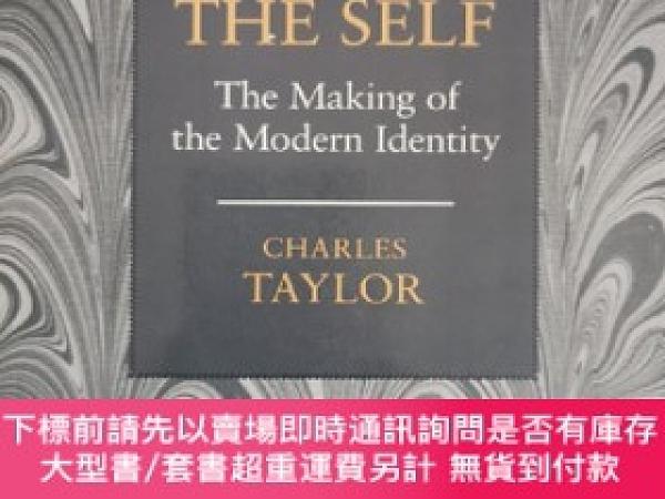 二手書博民逛書店Sources罕見of the Self:The Making of the Modern IdentityY
