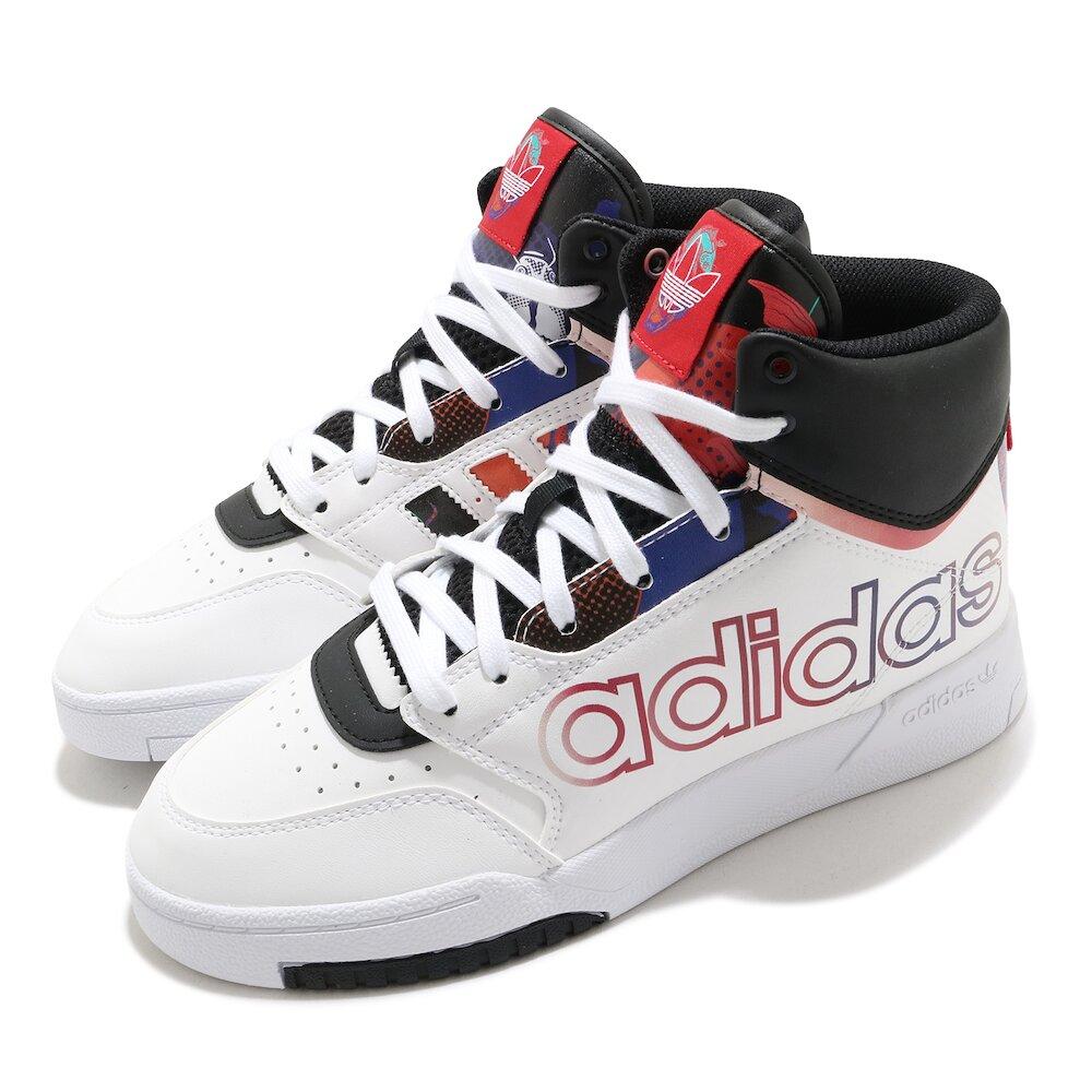 ADIDAS 休閒鞋 Drop Step XL 高筒 女鞋 愛迪達 三葉草 中國新年 CNY 穿搭 白 黑 [Q47202]