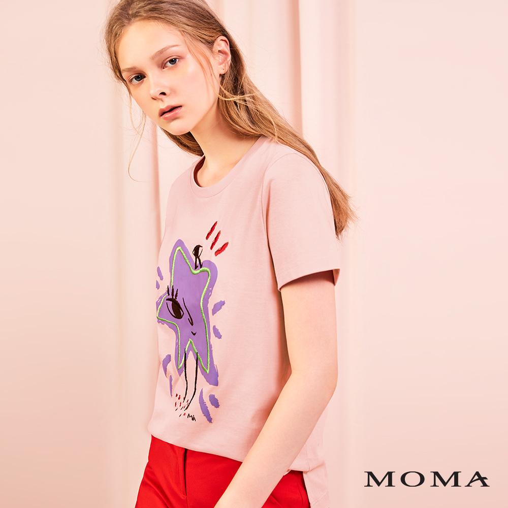 MOMA(01M087)星星眼睛T恤