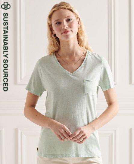 Superdry Organic Cotton Pocket V-Neck T-Shirt