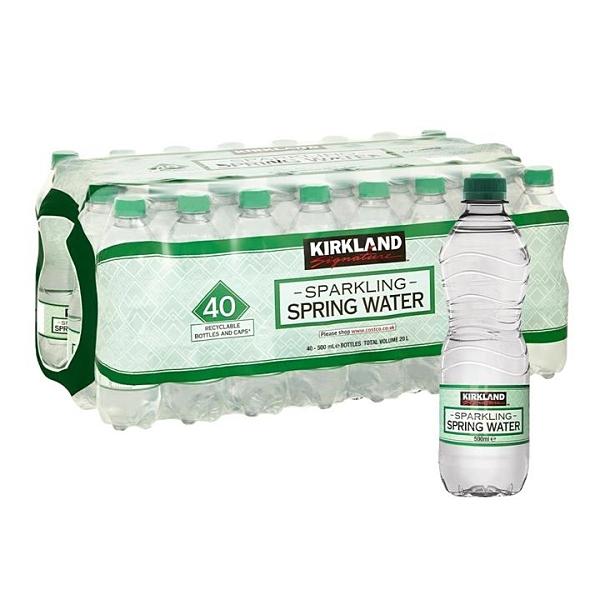 Kirkland Signature 科克蘭 氣泡水 500毫升 X 40瓶