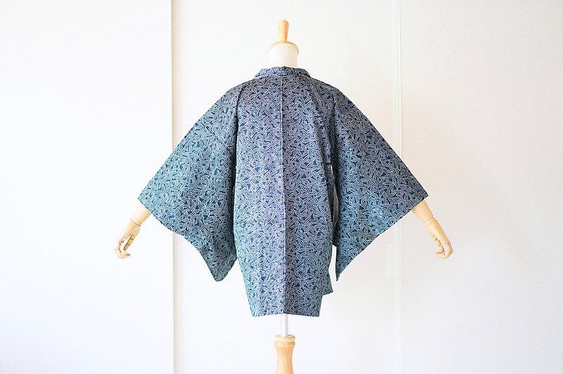 老式和服外套,羽織,日本和服/ 4619