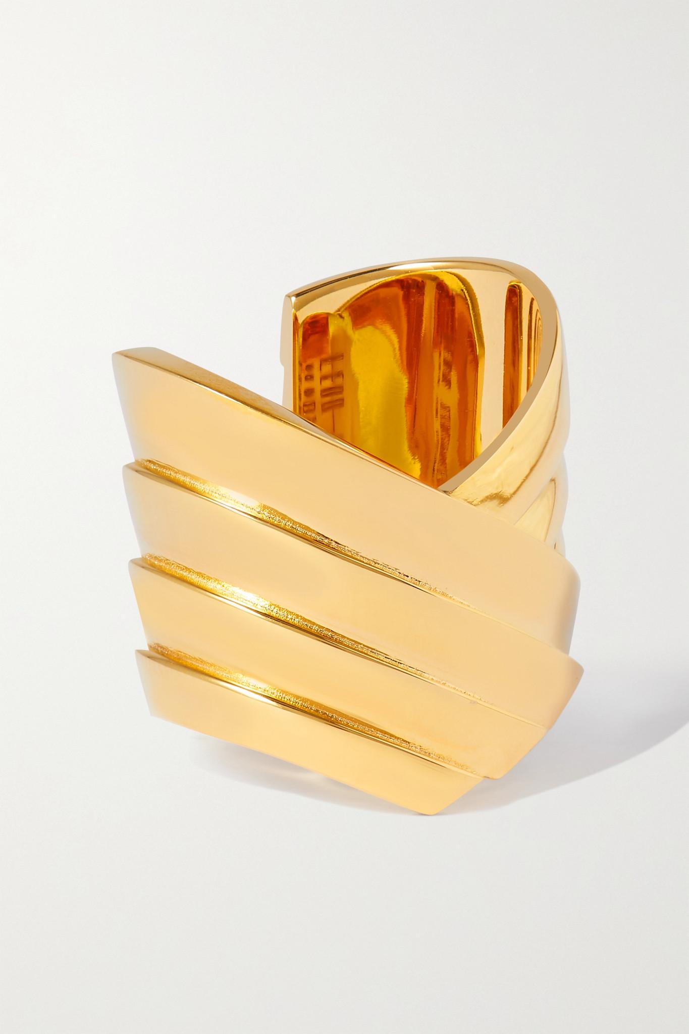 LEDA MADERA - Susan Gold-plated Ring - small