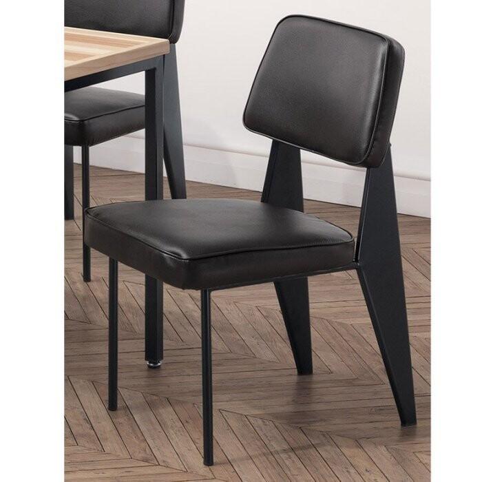 新精品ce-b421-03 格瑞斯餐椅(黑皮)(不含餐桌與其他商品) 台北到高雄 滿三千搭配車趟