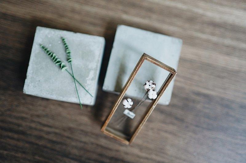 大人的植物學-乾燥花盒 袖珍DIY